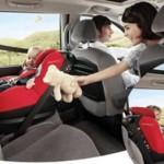 Bebé abordo: asientos para niños