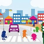 Inseguridad vial a la entrada y salida del colegio