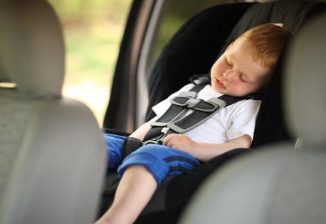 seguridad auto niños
