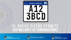 Nueva patente argentina para Motos y Autos-2