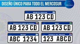 Nueva patente argentina para Motos y Autos-1