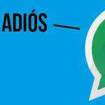 Whatsapp deja BlackBerry y varias otras plataformas
