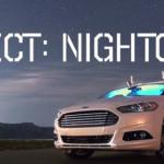 Ford le añade visión nocturna a sus Autos autónomos