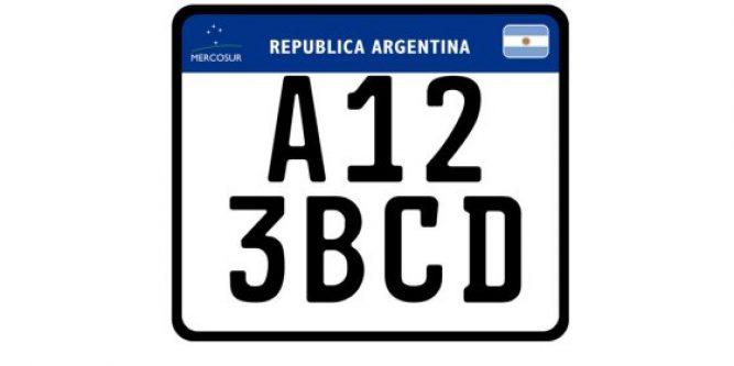 Nueva Patente Argentina Para Motos Y Autos SeguroWeb